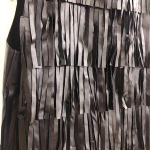 Nasty Gal Dresses - ⚡️Nasty Gal pleather fringe mini dress